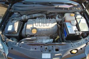 Motor før vask
